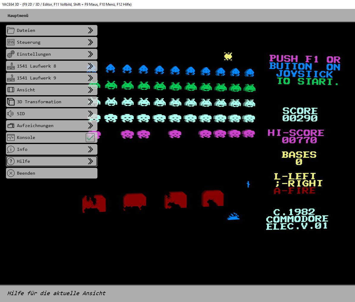 YACE64 - The Commodore 64 Emulator