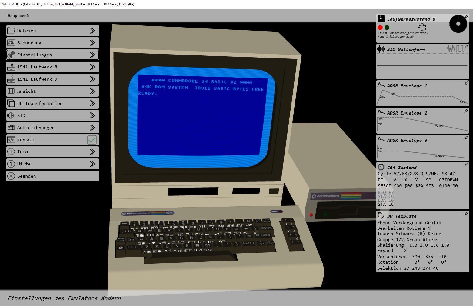 commodore 64 pc emulator