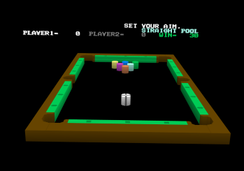 Commodore Pool in 3D view